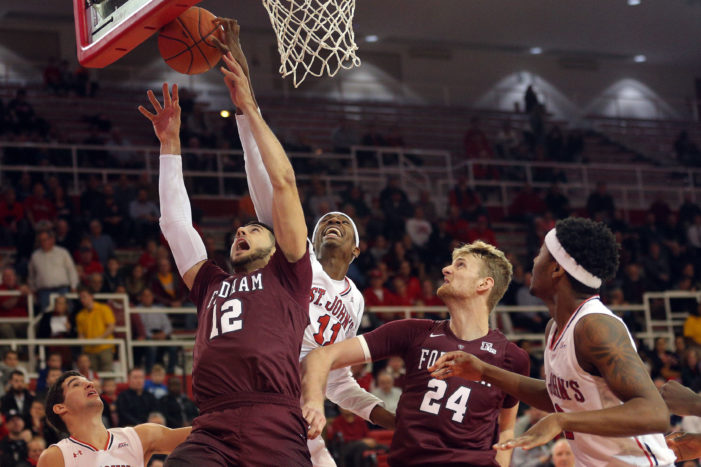 Fordham's Joseph Chartouny to declare for NBA Draft