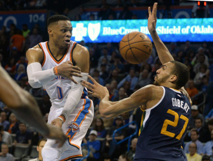 Westbrook collects his 30th triple-double of the season