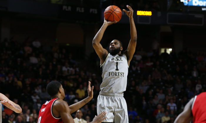 NCAA Top 25 roundup: Wake rising, Gators eat and Bonzie's double-double