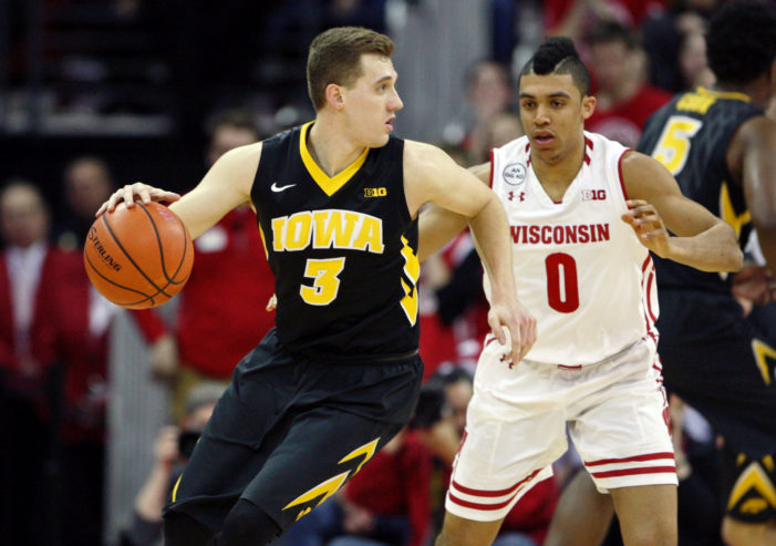 Bohannon delivers; Iowa upsets Wisconsin