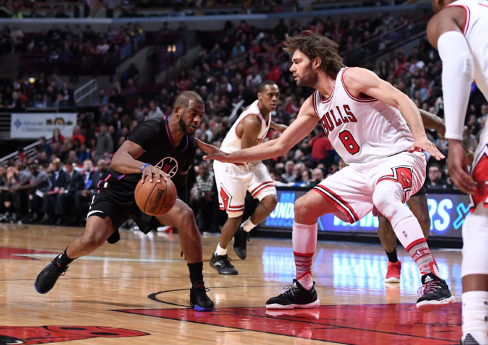 Crawford rallies past Bulls; Heat take advantage without LeBron and Kyrie, and Spurs clinch a playoff spot