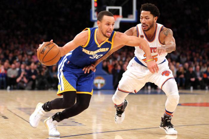 NBA Roundup: Curry passes Billups, Gobert tips in game-winner, Bogdanovic drains 8 treys