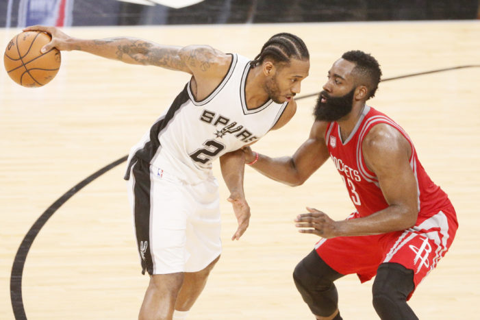 NBA Roundup: Kawhi's block. Lee paces Knicks, and condensation in Minnesota