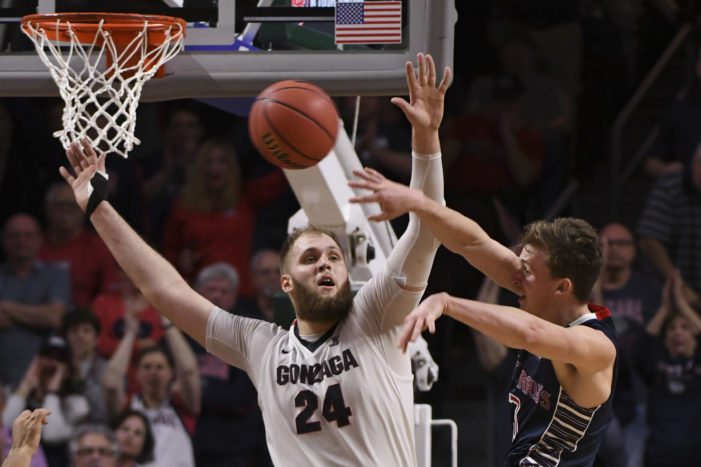 Gonzaga captures fifth straight WCC title