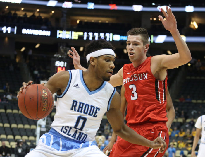 Rhode Island suffocates Davidson; advances to A-10 final