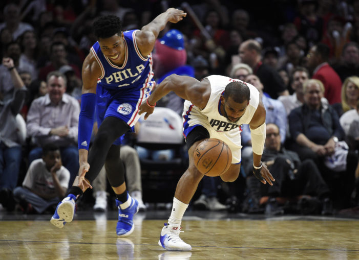 NBA Roundup: Clippers take down 76ers; Westbrook records 32nd triple-double, and No Howard, No Problem