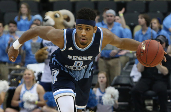 Rhode Island holds off VCU; takes A-10 title