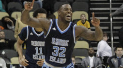 Rhody finds stride at right time