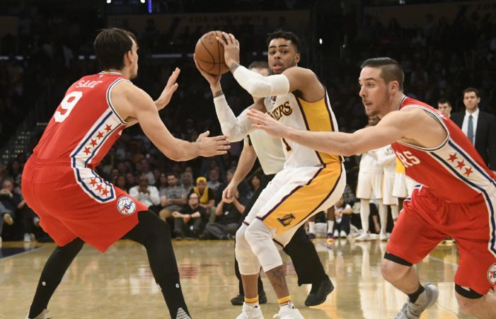 76ers close out Lakers at the free throw line