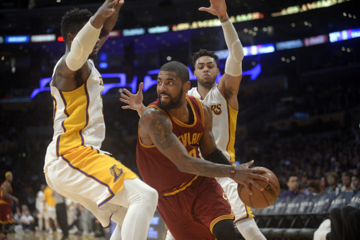 NBA Roundup: Kyrie explodes for 46, Pelicans sweep Wolves, Lillard makes franchise history