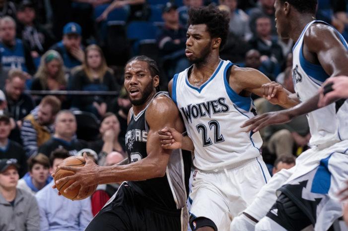 NBA Roundup: Lopez beats buzzer; Raptors outlast Bulls, and Spurs silence Wolves