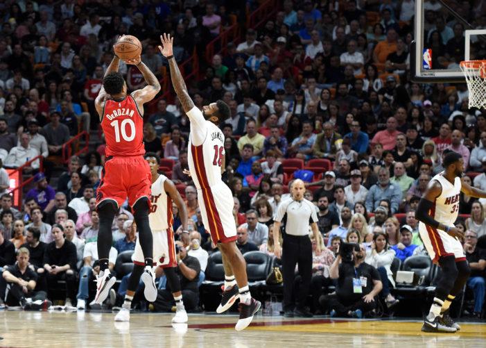 NBA Roundup: DeRozan outlasts Heat; Dallas survives at home, and Lillard rallies Blazers past Knicks