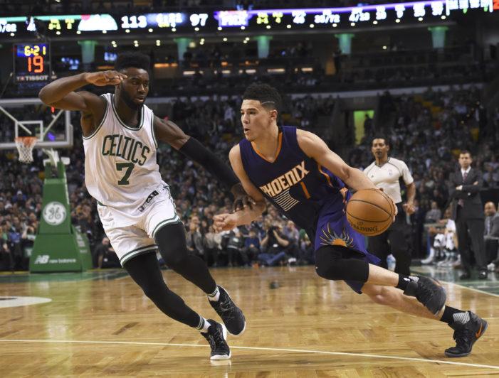 Booker drops 70 in loss to Celtics