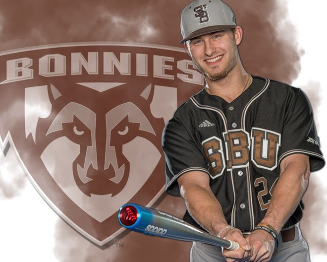 Hollins record-setting day leads Bonnies past Davidson, 17-4