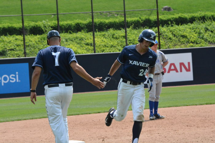 Xavier clinches weekend series with 9-0 win over Seton Hall
