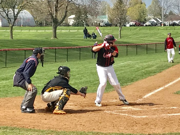 Schmitt, big inning carry Hilton past Athena