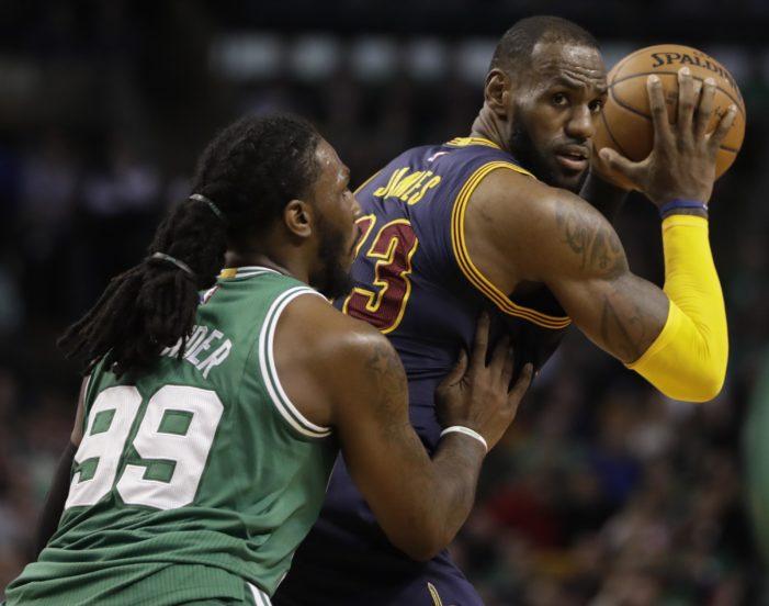 NBA Roundup: Cavs throttle Celtics. Westbrook drops 45, and Lowry returns