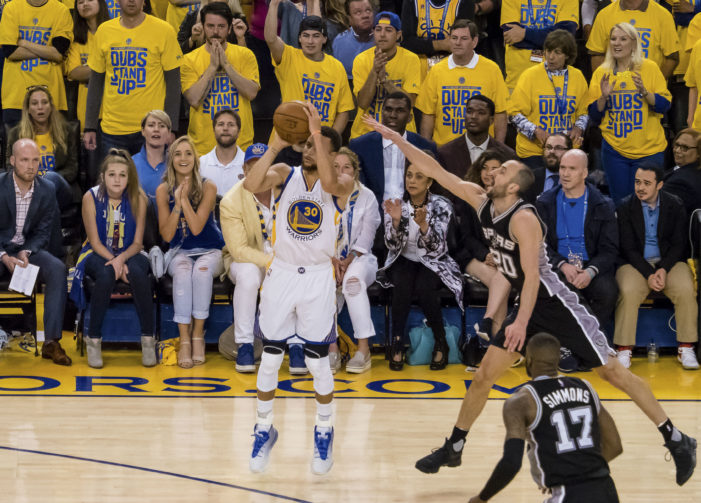 NBA Playoffs: Warriors come all the way back to take Game 1