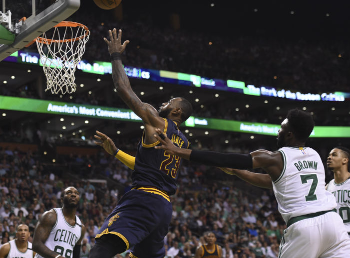 NBA Playoffs: Cavs trounce C's to take Game 1