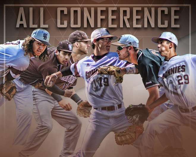 Phillips earns Atlantic 10 Pitcher of the Year, Sudbrook named Coach of the Year; six Bonnies honored on All-Atlantic 10 teams