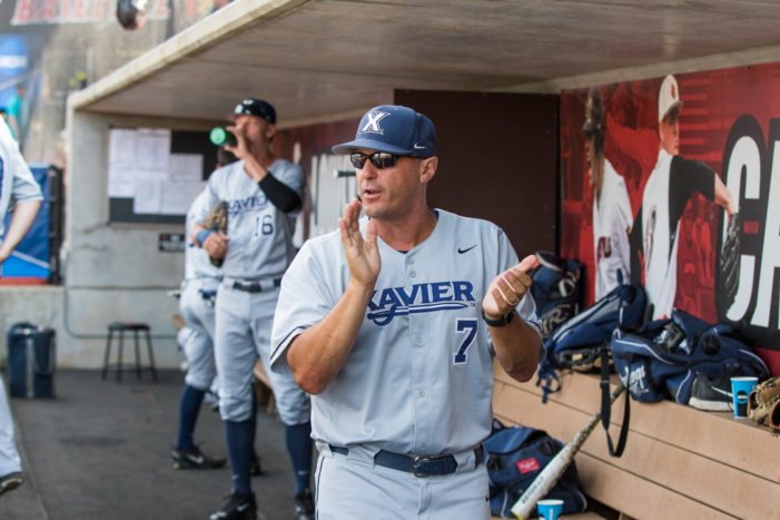 Scott Googins departing Xavier baseball program after 12 years