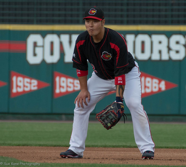 Park's ninth-inning single lifts Wings past Bisons