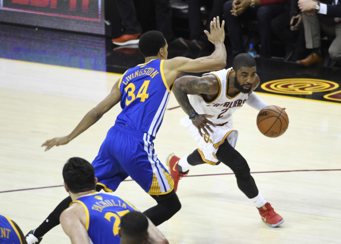 NBA Finals: Kyrie drops 40; Cavs stay alive