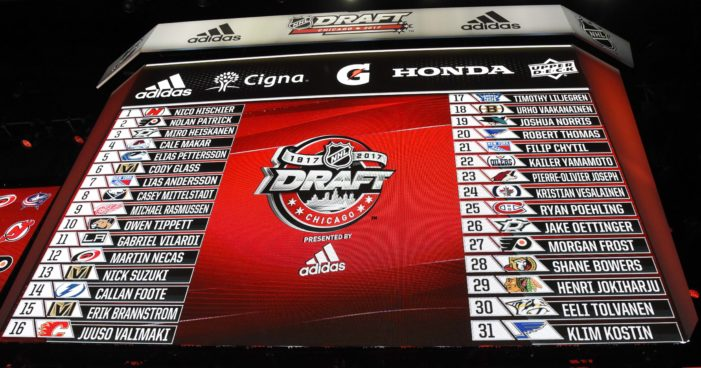 Dugan, Farrance realize dreams with NHL Draft selections