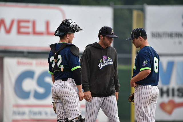 PGCBL Roundup: Olmstead digs deep to beat DiamondDawgs, Gneiting sails Dutchmen past Stallions and Joe Simone delivers a walk off