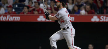Wacha pitches complete game shutout; Harper goes 4-for-4 in victory