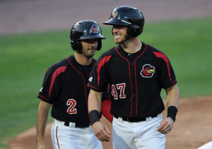 Garver, Granite Named International League Postseason All-Stars