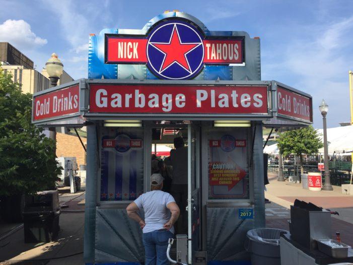Feeling garbage-plate proud