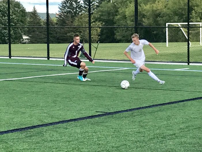 Wilmot nets hat trick; Pirnie leads Hilton rally and Brockport stays undefeated