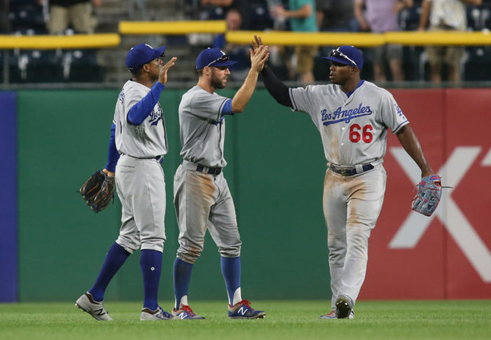 Dodgers reach 90, Sale struggles and a skirmish in Motown