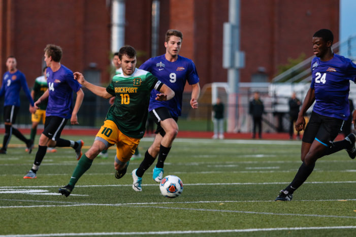 Brockport's offense comes alive in 4-2 win over Alfred University