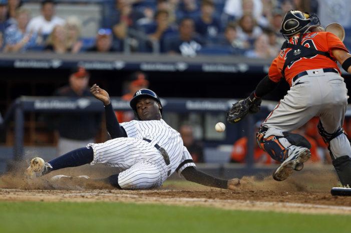 MLB Roundup: Donaldson and Upton homer twice, Colorado explodes for 16, Greinke throws eight scoreless