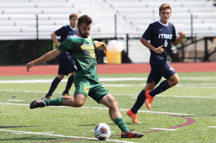 Brockport's overtime battle with Ithaca ends in 0-0 draw