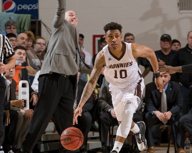 Eleven national TV games highlight St. Bonaventure's Atlantic 10 Conference basketball schedule