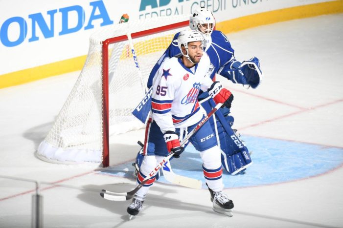Bailey, Amerks start new season right