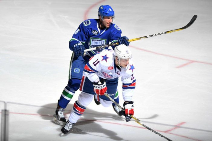 Amerks outworked by Comets in shutout