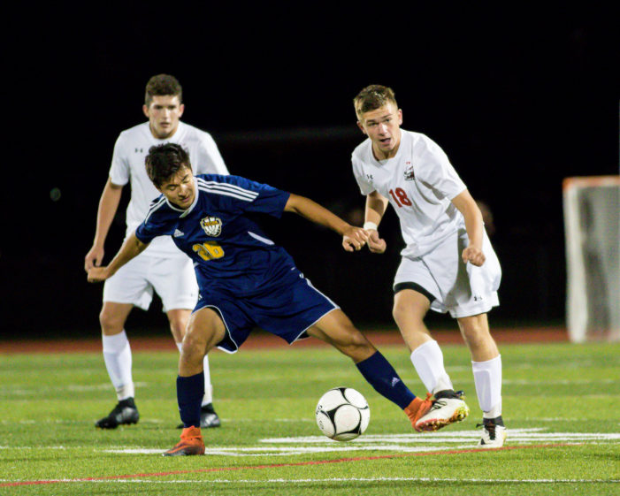 R-H upsets Fairport; Lewandowski and Rice fill it up
