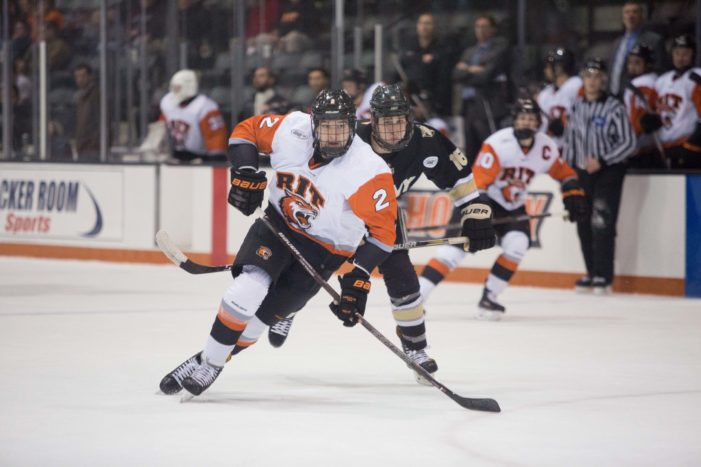 RIT hockey to take on Holy Cross in pair of crucial Atlantic Hockey contests