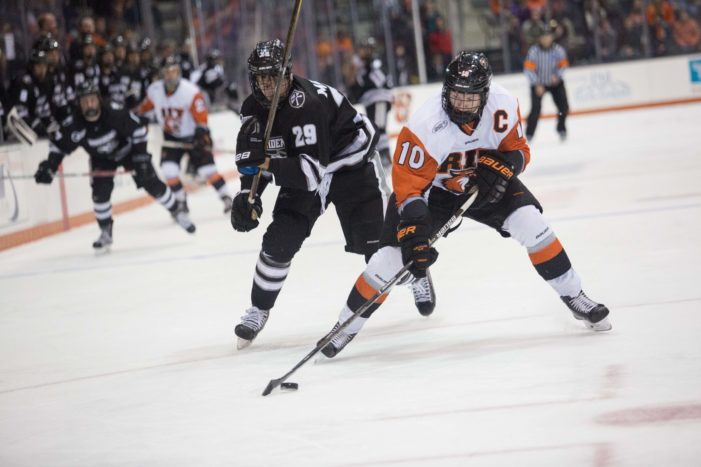 RIT hockey to wrap up regular season with pair of home games against Mercyhurst