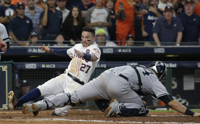 MLB Playoff Roundup: Correa comes up clutch and Puig strikes for Dodgers