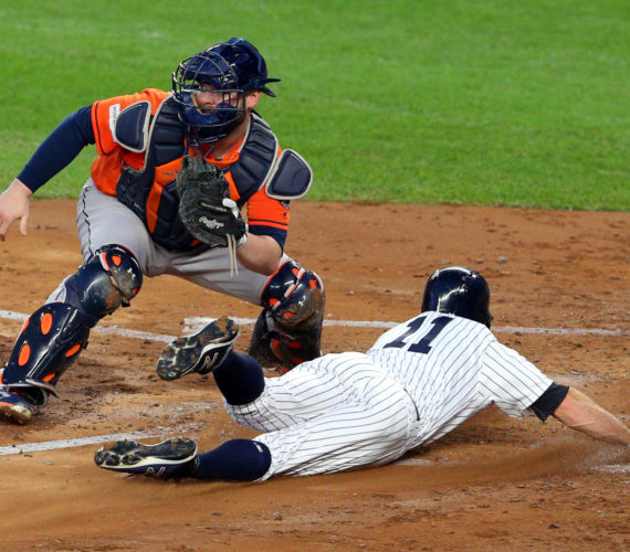 Yankees one win from pennant; Baez breaks out for Cubs