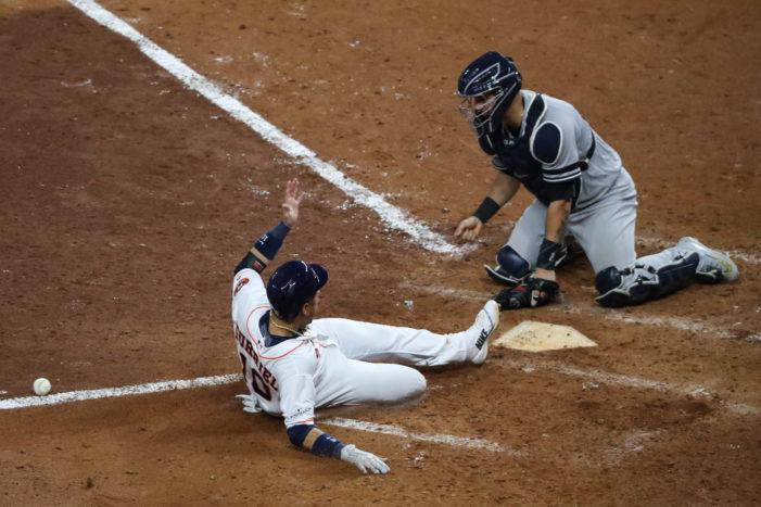 Verlander, Altuve lead Astros to game seven