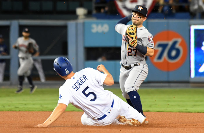 Kershaw out-duels Keuchel in Game 1
