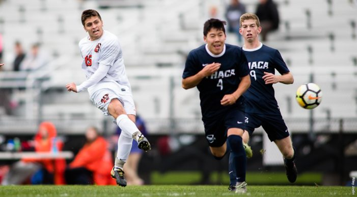 RIT clinches Liberty League playoff berth with 4-1 win over Ithaca