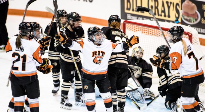 RIT women's hockey to play 34 regular season games as 2019-20 schedule is unveiled
