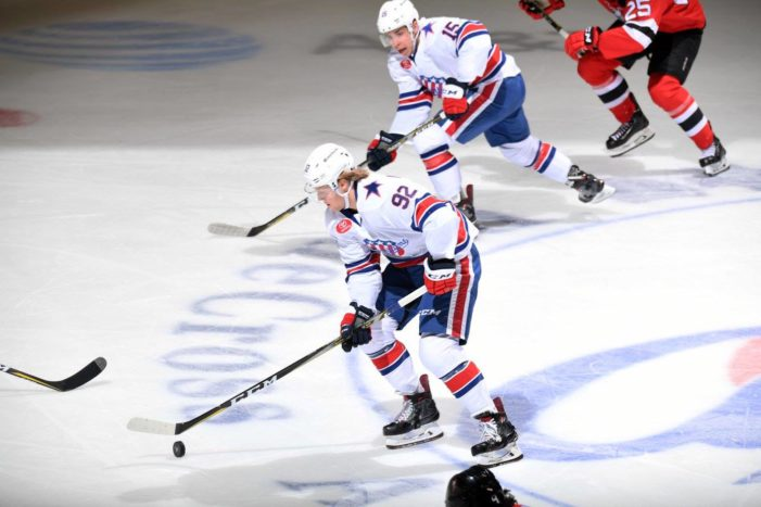 Amerks put up 10, blast Devils
